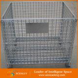 Клетка крена хранения складного металла стальная большая