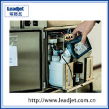 Máquina pequena da codificação do Inkjet do caráter de Leadjet V98