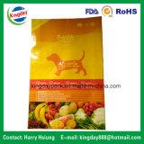 Sacchetto impaccante in piedi dell'alimento per animali domestici dell'alimento con la chiusura lampo