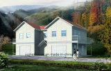 اثنان طابق بنية ثابت يصنع منزل