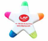 Хорошая дешевая подгонянная ручка Highlighter формы звезды тавра