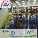 Speicherzahnstange unterstützte Stahlmezzanin-Zahnstange