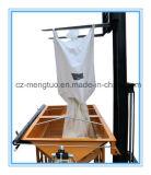 Le sac tissé par pp de bas de sortie de cône avec la couture latérale boucle facile pour le débit