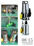 (SDL400D-31A) Pompe submersible du jardin le meilleur marché des prix d'acier inoxydable avec le commutateur de flotteur pour l'eau encrassée