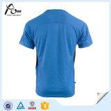 Les Mens court-circuitent le T-shirt sec frais de sport d'usure de fonctionnement de douille