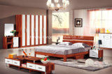Chambre à coucher moderne Furniture Sets dans Single Bed
