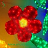 2016年のLEDのモチーフライト人工花のヒマワリライト