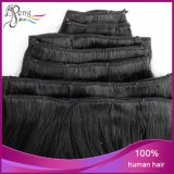 Virgin Body brasiliano Wave Clip in Human Hair Extensions