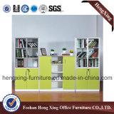 Classeur d'étagère de livre de meubles de bureau de mélamine de 2 portes (HX-6M259)
