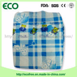 필리핀에 검사된 Plaid Backsheet Baby Diaper
