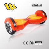 Autoped de van uitstekende kwaliteit van Two Wheels Balance met FCC Approved van Ce RoHS met Bluetooth Speaker en Afstandsbediening