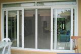 Дверь двойной застеклять патио конструкции способа стеклянная сползая