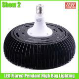 150 vatios LED de reequipamiento de la lámpara de gran altura con luz blanca fría para el almacén de iluminación