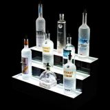 Visualizzazione acrilica per le bevande, supporto di schiocco LED del vino