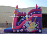 Princesas Tema Inflável Castelo da beleza do Bouncer de Inflatables