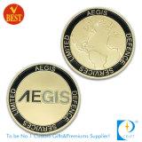 기념 최상 주문을 받아서 만들어진 3D 양측 경찰 또는 금속에 있는 기념품 동전