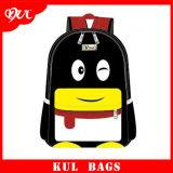 (KL1502) Saco bonito da forma do pinguim da trouxa da escola das crianças para miúdos