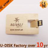 회전대 나무로 되는 카드 USB 섬광 드라이브 (YT-3132L)