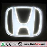 Emblema di marchio dell'automobile Backlit LED 3D per Honda