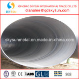 Q235B para o óleo, gás, tubulação de aço da espiral líquida da entrega de carvão