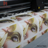 papel de transferência térmica do Sublimation 30/45/70/100/120GSM para a tela do Sublimation