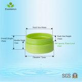 Recipiente plástico do frasco de sal de banho, frascos 80ml plásticos para cosméticos