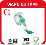 Ruban d'avertissement de PVC blanc noir