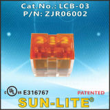 ワイヤーConnectors、Lcb、(速ワイヤーターミナル); Lcb-02