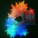 Luz más barata festiva y del partido de la Navidad del precio de la estrella de la dimensión de una variable LED de la decoración