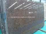 Laje Báltico de pedra natural do granito de Brown para telhas e bancadas