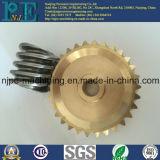 中国の製造業者の高品質CNCの機械化の金属のワームギヤ