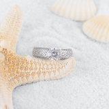 Anillo de la joyería de la venda de boda del diseño de marcas de fábrica (CRI0302-B)