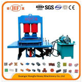 Bloco concreto do tijolo da imprensa hidráulica que dá forma à máquina (HF-100T)
