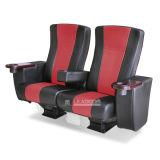 Cadeira luxuosa estofada do filme do estilo de Leadcom couro grande (LS-10602)
