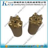 morceau de foret de bouton de roche de cône de 32mm/34mm/38mm/40mm 7 degrés