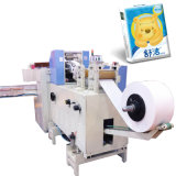 Papier de soie de soie faciale faisant la machine pour la machine à emballer de mouchoir Pocket