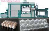 Bandeja plástica automática de alta velocidad inteligente de la torta/bandeja de las galletas/taza de las tapas que forman haciendo la máquina