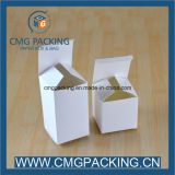 Custom Different Size dobrável Gift White Card Paper Packaging Box