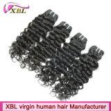 Волосы Remy девственницы Weave человеческих волос Xbl бразильские