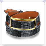 Pulsera del cuero de la joyería del cuero de la joyería del acero inoxidable (LB478)