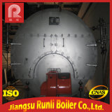 流動性にされる高性能の熱オイル-ベッドの炉の水平の蒸気ボイラ