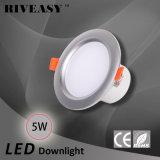 5W luz do diodo emissor de luz do projector da iluminação do diodo emissor de luz Downlight de 3.5 polegadas