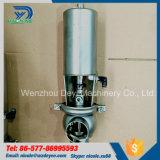 Válvula de globo pneumática sanitária do aço inoxidável