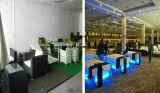 Presidenza di giardino esterna della mobilia della presidenza esterna del rattan del blocco per grafici dell'allume della liscivia