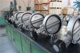 Tipo válvula da bolacha do aço inoxidável CF8m de borboleta com ISO Wras do Ce aprovado (CBF01-TA01)