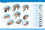 Cable paciente fisio de Lifepak 9b ECG del control con los Leadwires