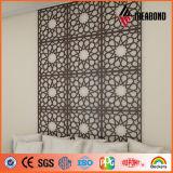 El panel compuesto de aluminio del material del corte decorativo del CNC