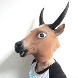 Маска Halloween головки коровы Costume причудливый платья