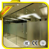 Shandong Weihua 12mm Thick Toughened Glass voor Door