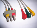 Cable del Leadwire ECG de Philips Snap&Clip 3